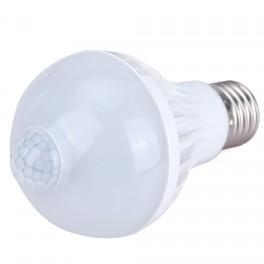Диодная лампа с датчиком движения Led 7W 9W